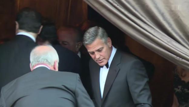 Video «Mit George Clooney vor dem Traualtar» abspielen