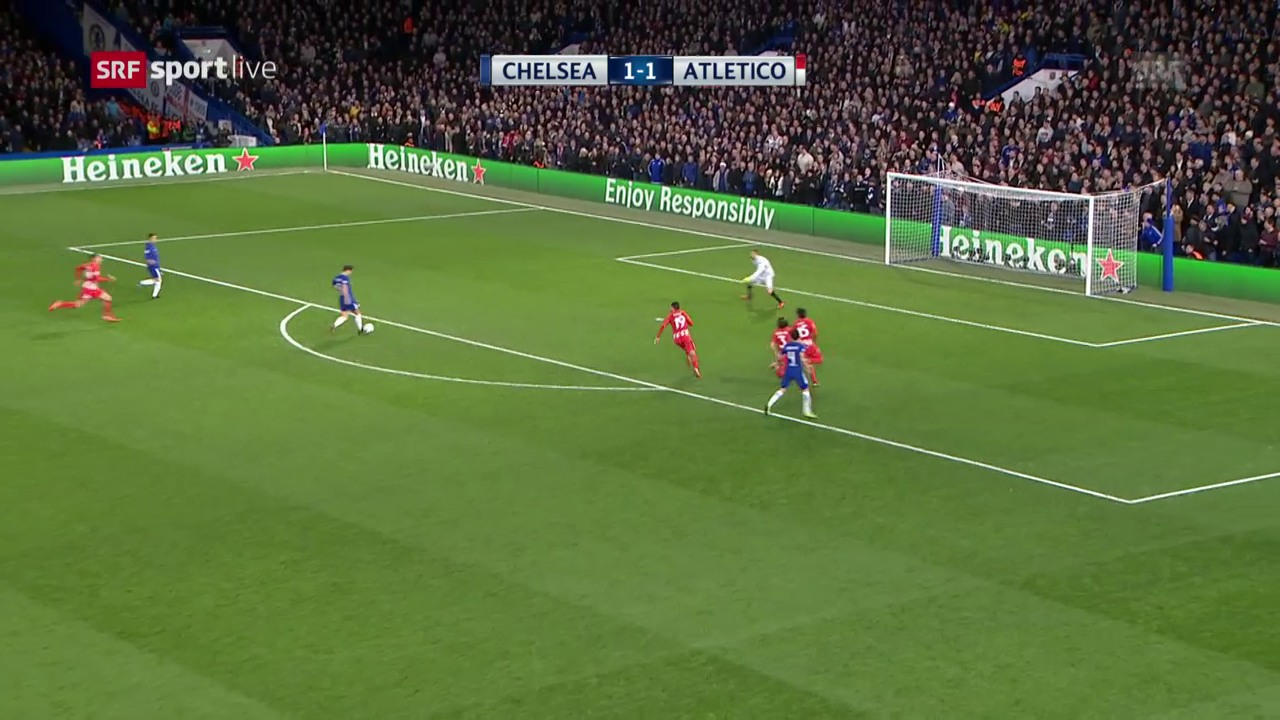 Chelsea und Atletico teilen sich die Punkte