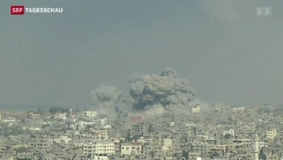 Video «Gaza-Konflikt eskaliert» abspielen