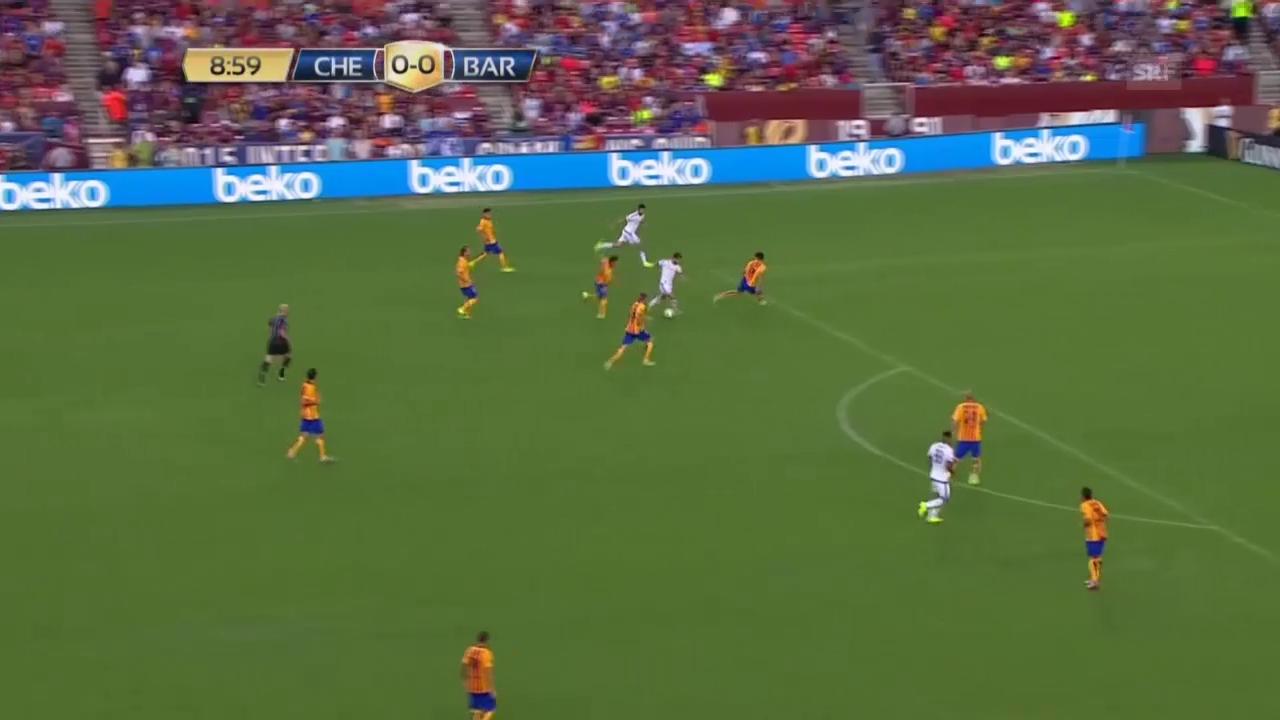 Fussball: Testspiel Barcelona - Chelsea