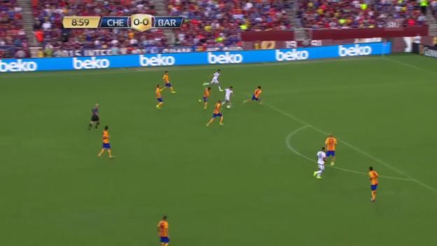 Video «Fussball: Testspiel Barcelona - Chelsea» abspielen