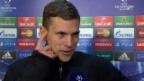Video «Fussball: Champions League, Fabian Frei im Interview» abspielen