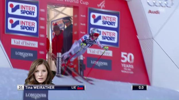 Video «Tina Weirathers Frühstart» abspielen