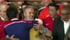 Video «WM: WM-Fieber grassiert am UNO-Hauptsitz in New York» abspielen