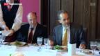 Video «Treffen Schweiz - Deutschland» abspielen