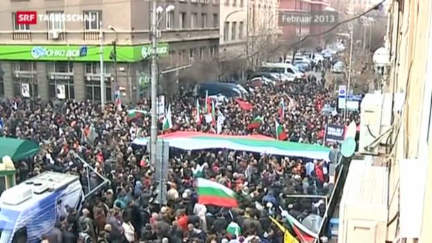 Video «Bulgarien wählt unter schwierigen Voraussetzungen» abspielen