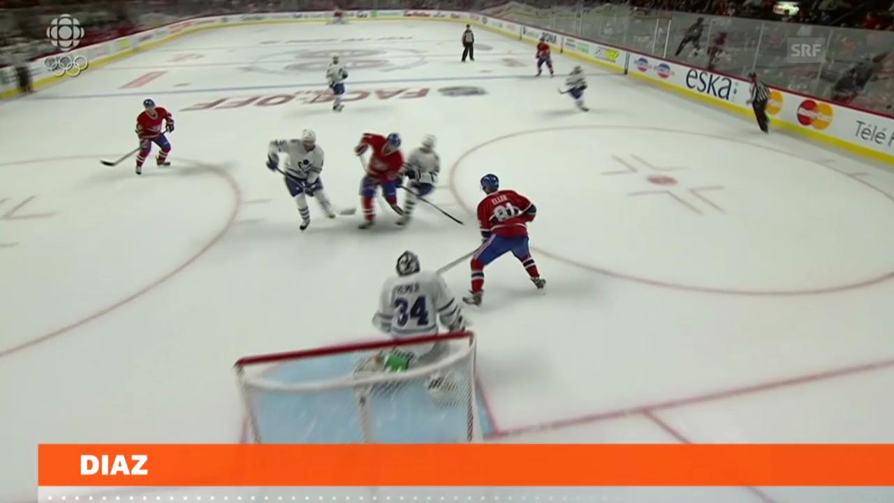 Eishockey: Diaz skort zum NHL-Start