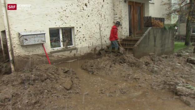 Video «Dauerregen und Schnee in der Schweiz» abspielen