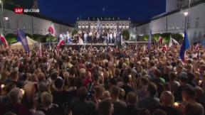 Video «Bewegt sich Polen vom Rechtstaat weg?» abspielen
