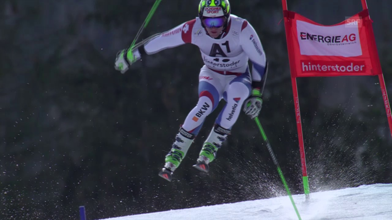 Bester Schweizer in Hinterstoder: Justin Murisier