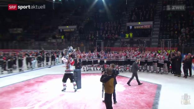 Video «CHL-Final Kärpät Oulu - Frölunda Göteborg» abspielen