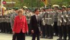 Video «Schwieriger Besuch aus Frankreich in Berlin» abspielen