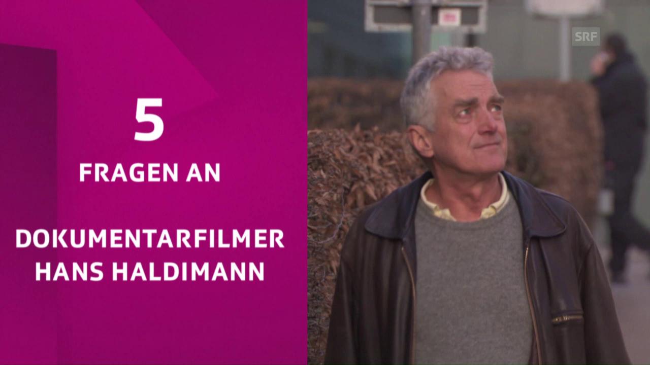 5 Fragen an Hans Haldimann