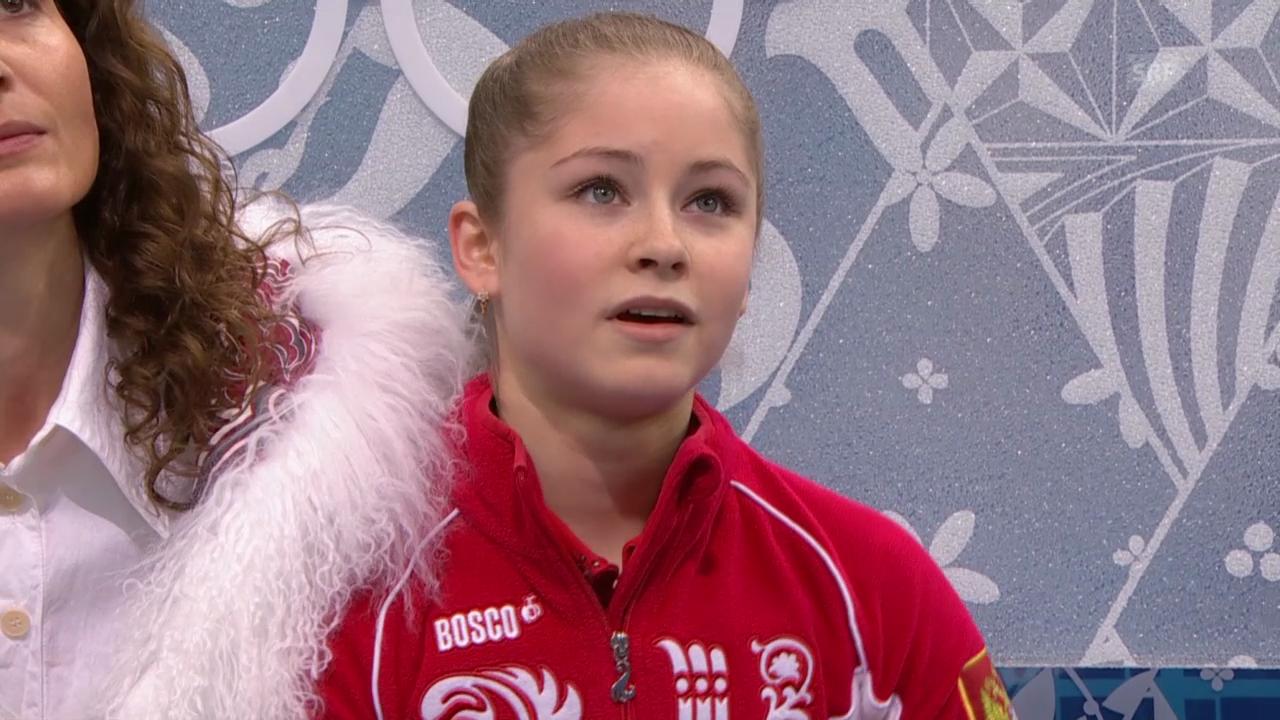 Sotschi: Eiskunstlauf, Julia Lipnitskaja