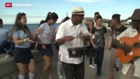 Video «Annäherung zwischen Kuba und USA» abspielen