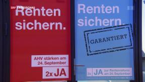 Video «Schwierige Ausgangslage für die Abstimmung der Rentenreform» abspielen