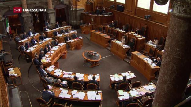 Video «Differenzbereinigung bei der Unternehmenssteuerreform III» abspielen
