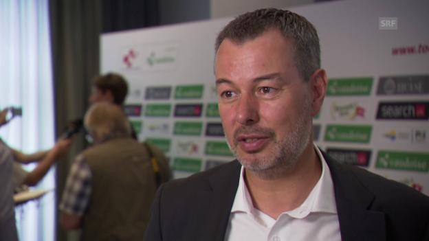 Video «Generaldirektor Olivier Senn über die diesjährige Tour de Suisse» abspielen