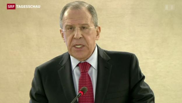 Video «Moskau beschuldigt den Westen» abspielen