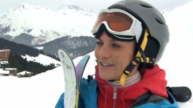 Video «Mit Annina Frey auf der Piste» abspielen
