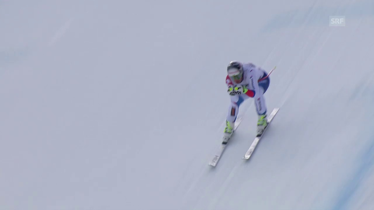 Ski alpin: Weltcup der Männer, Abfahrt in Kvitfjell, Beat Feuz