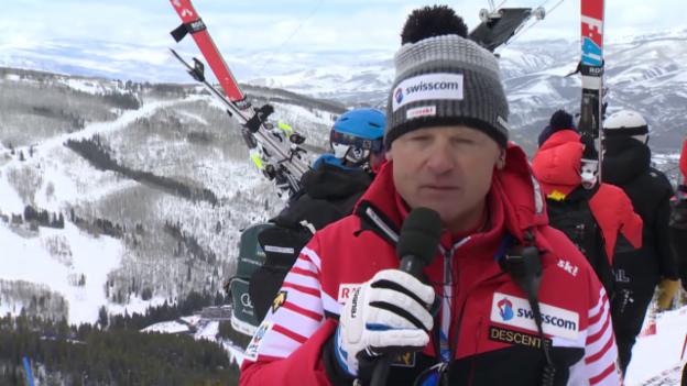 Video «Ski alpin: WM in Vail/Beaver Creek, Super-G-Fazit von Frauen-Cheftrainer Hans Flatscher» abspielen