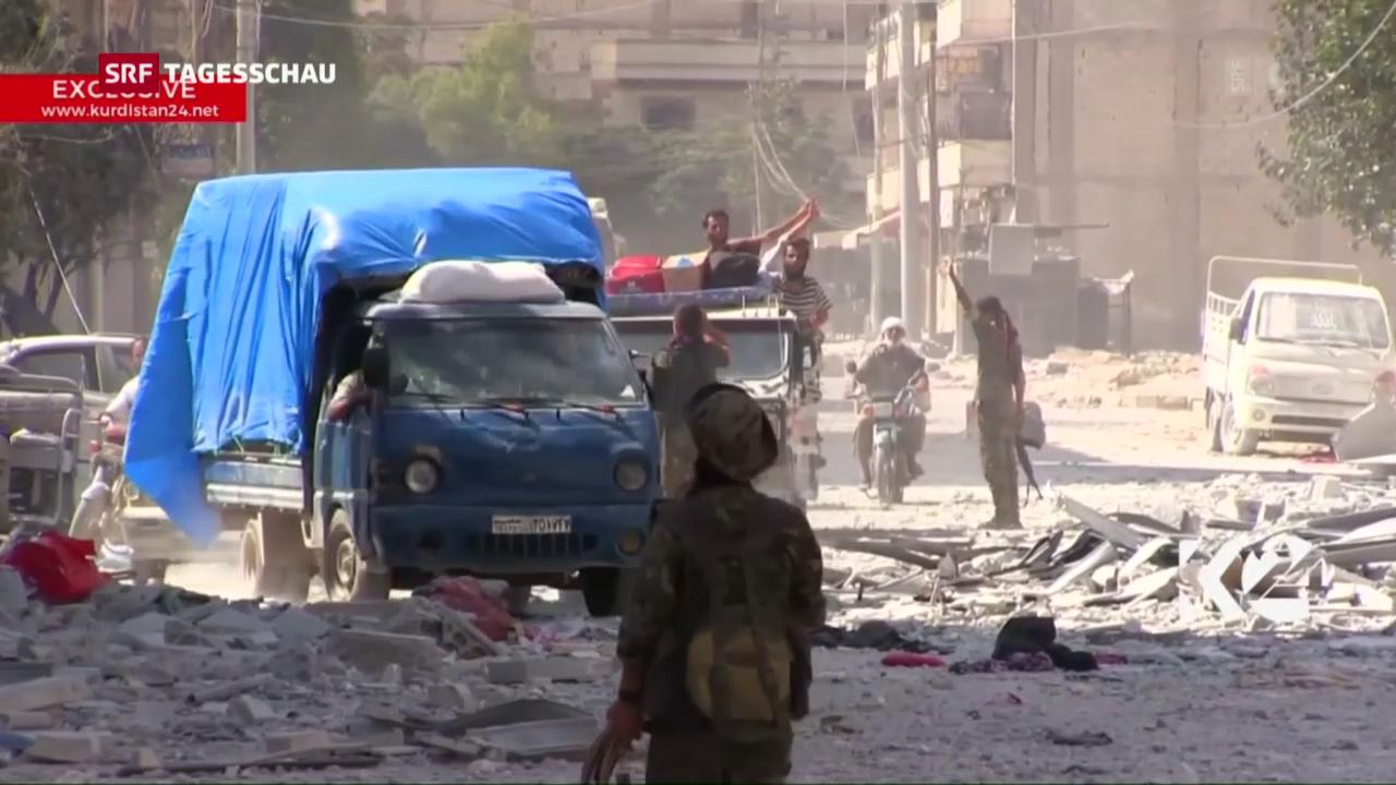 Syrische Stadt Manbidsch befreit