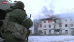 Video «Separatisten setzen in der Ukraine Offensive fort» abspielen