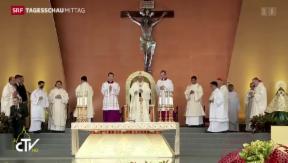 Video «Papst hat Asienreise beendet» abspielen