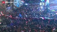 Video «Erneute Demonstrationen in Kairo» abspielen