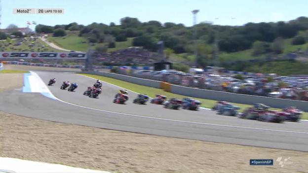 Video «Dieser «Highsider» kostete Lüthi in Jerez ein Topresultat» abspielen