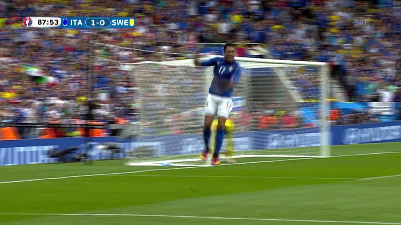 Live-Highlights: Italien - Schweden