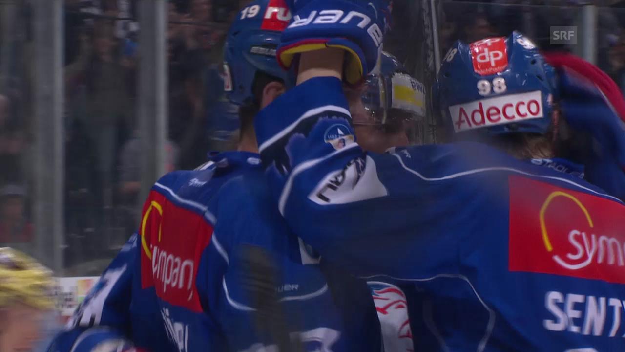 Eishockey: Playoff-Halbfinal, Die Tore bei ZSC - Genf