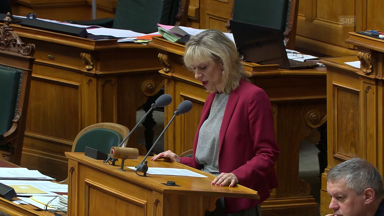 Priska Seiler-Graf erinnert an den serbischen Propaganda-Zug