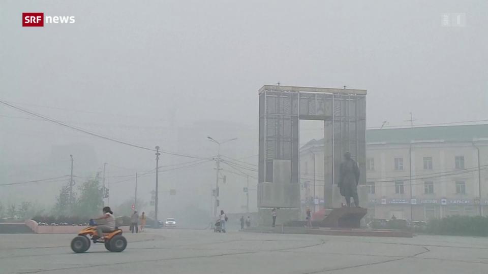 Verheerende Waldbrände in Sibirien