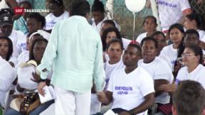 Video «FARC-Kommandanten entschuldigen sich » abspielen