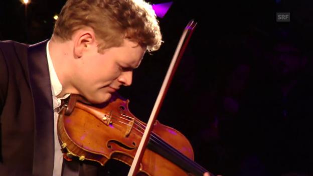 Video «Sebastian Bohren spielt Bach» abspielen