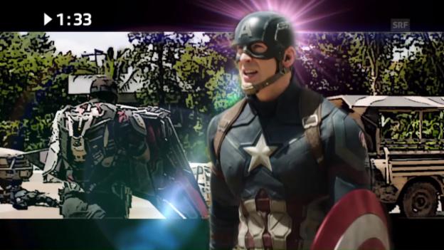 Video «Im Kino: «Captain America: Civil War»» abspielen