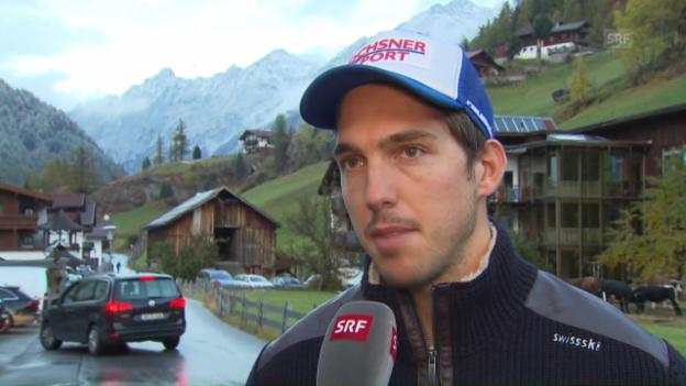 Video «Das sagt Carlo Janka vor dem Saisonstart in Sölden» abspielen