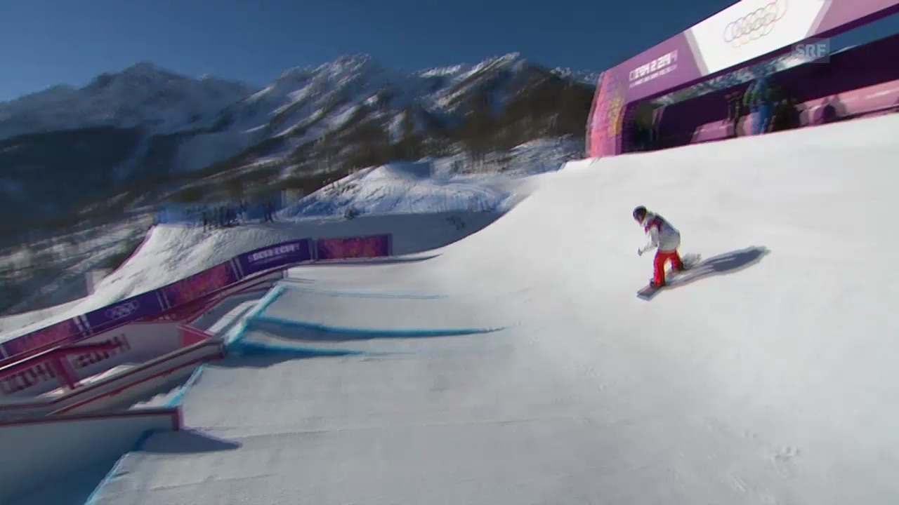 Sotschi: Slopestyle, Zweiter Halbfinal-Run von Koch