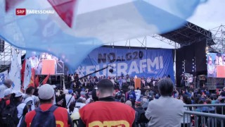 Video «Morgen beginnt G20-Gipfel in Buenos Aires» abspielen
