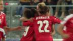 Video «Schweizer Fussball-Frauen-Nati bleibt ungeschlagen» abspielen