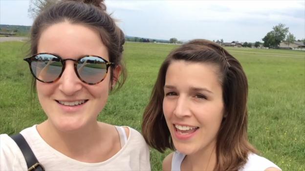 Video «SRF 3-Festival-Superpass: Céline und Nelly» abspielen