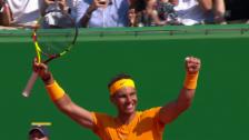 Link öffnet eine Lightbox. Video Final Monte Carlo: Satz- und Matchball Nadal abspielen
