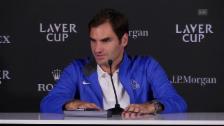 Link öffnet eine Lightbox. Video Federer: «Sie waren die Wunschcoaches» abspielen