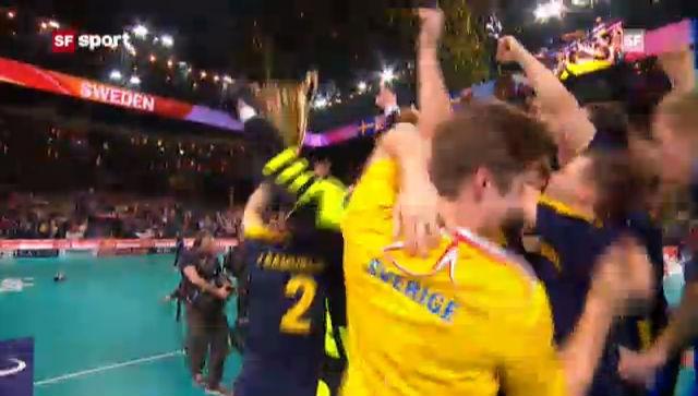 Unihockey-WM: Final Schweden - Finnland