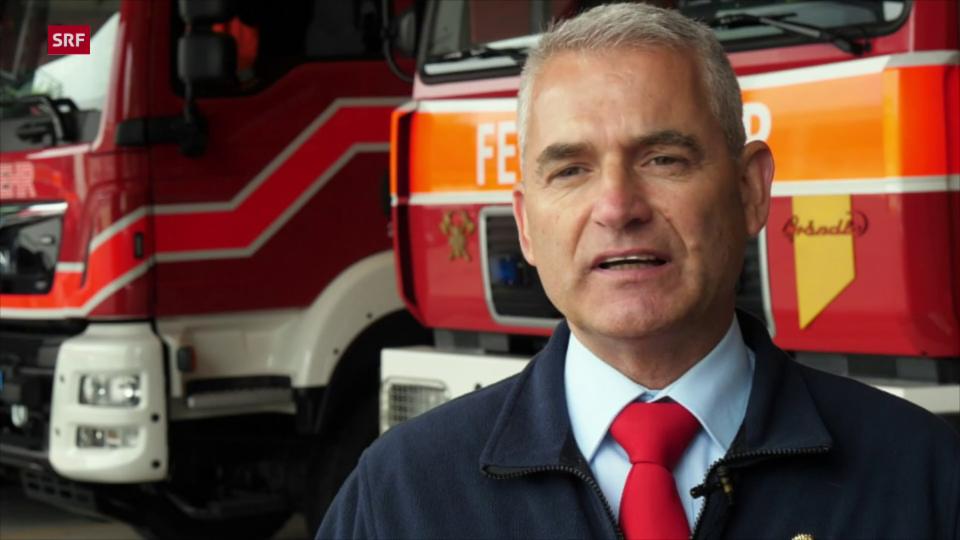 Feuerwehrinspektor AR, Walter Hasenfratz: Ärger über die Swisscom-Pannen