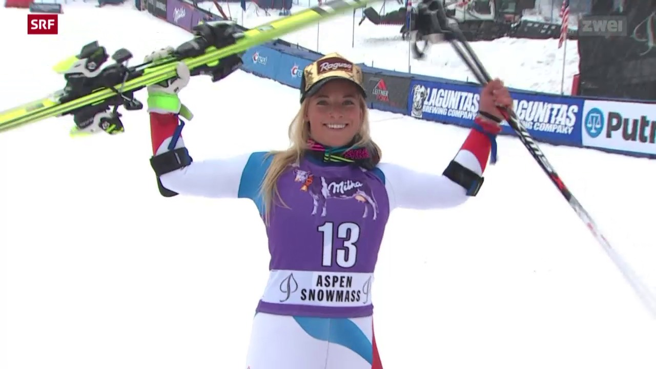 Ski alpin: Riesenslalom der Frauen in Aspen