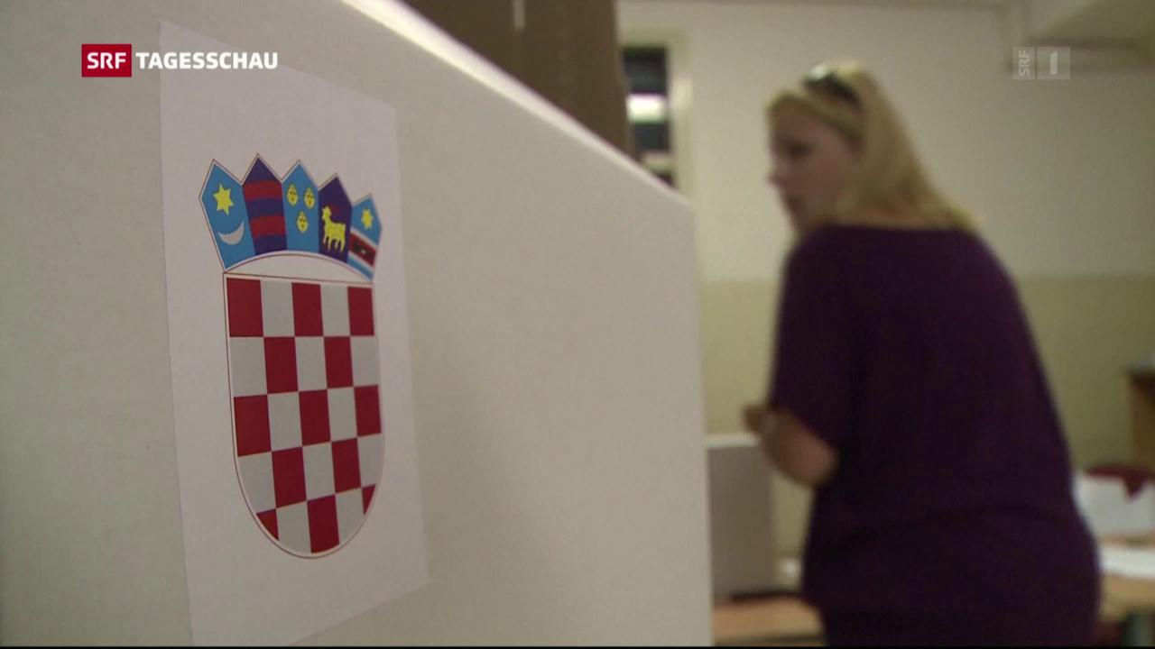 Kroatien wählt ein neues Parlament
