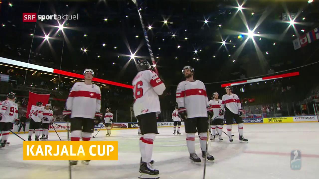 Nati am Karjala Cup dabei